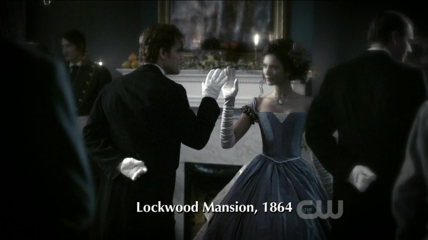 Stefan and Katherine flashback dance