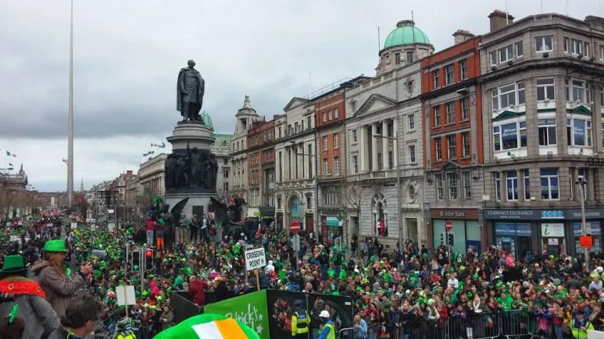 St. Patrick's Day Parade Dublin, best weekend getaways