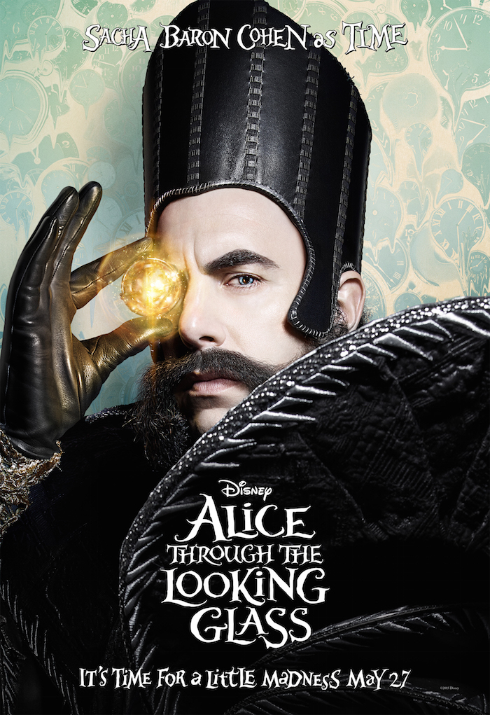 Alice Through the Looking Glass movie review, time, poster