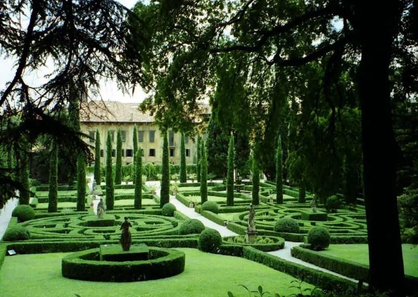Giardino Giusti, Verona, Romeo and Juliet in Verona