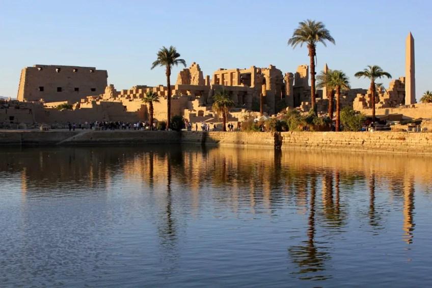 Temple of Karnak and egyptian gods gods of egypt