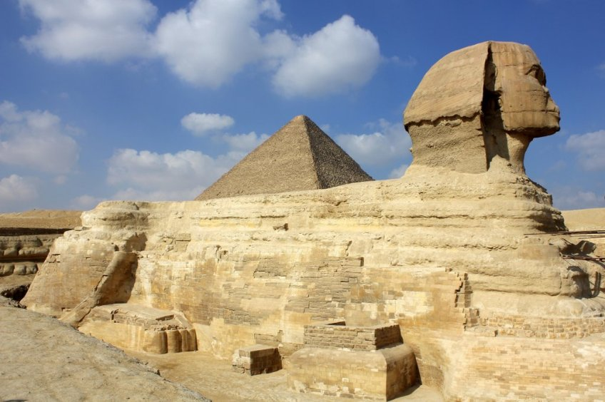 The Great Sphinx and the gods of egypt