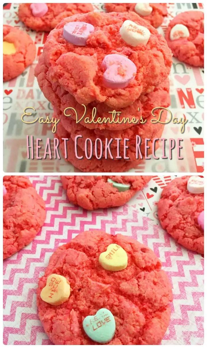 Valentine's Day Recipe, Heart Cookies Recipe