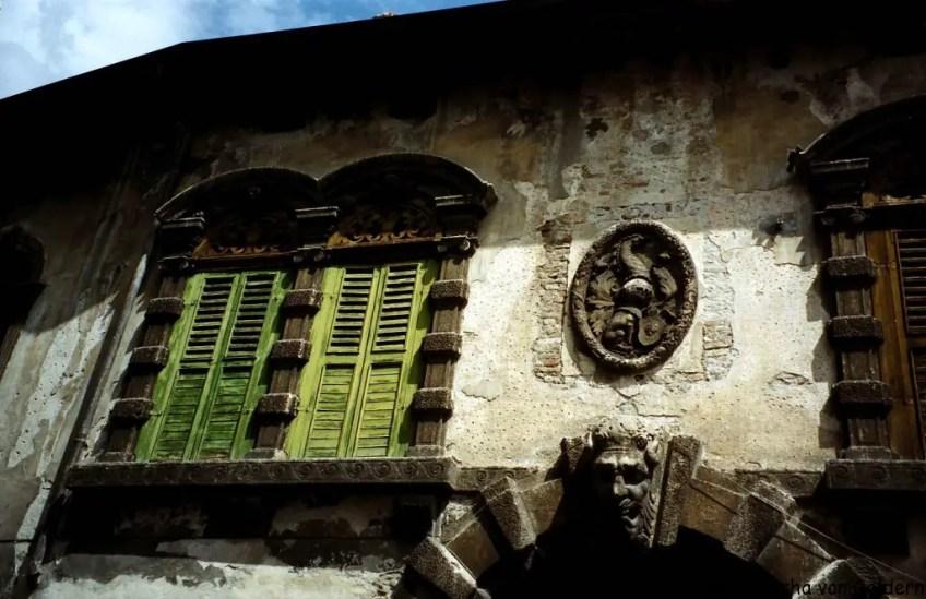 Windows of Verona , Romeo and Juliet in Verona