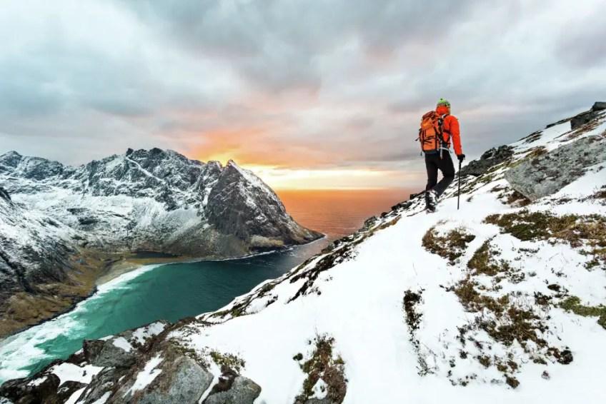 Lofoten Islands, Norway, Winter, Vikings, Hiking