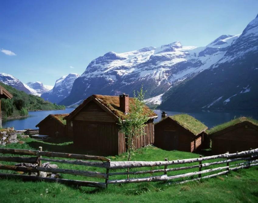 Lovatnet/Lovannet Sogn and Fjordane, Norway