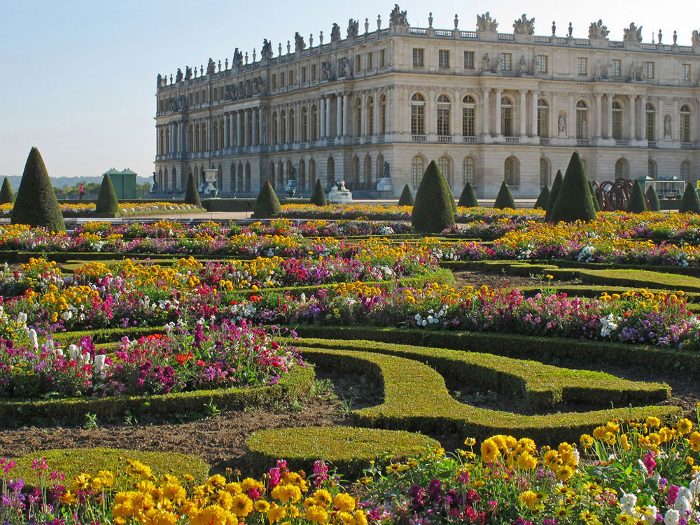 Beautiful Gardens, Chateau de Versailles Gardens
