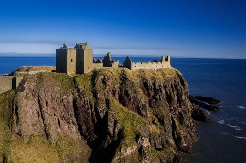 Dunnottar Castle Scotland Disney Brave