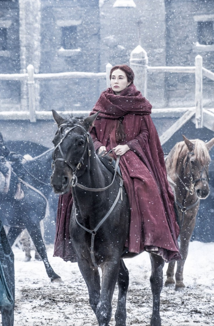 HELEN SLOAN/HBO, Melisandre, Game of Thrones, Season 6