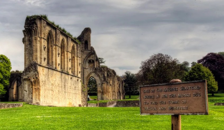 King Arthur Glastonbury Abbey