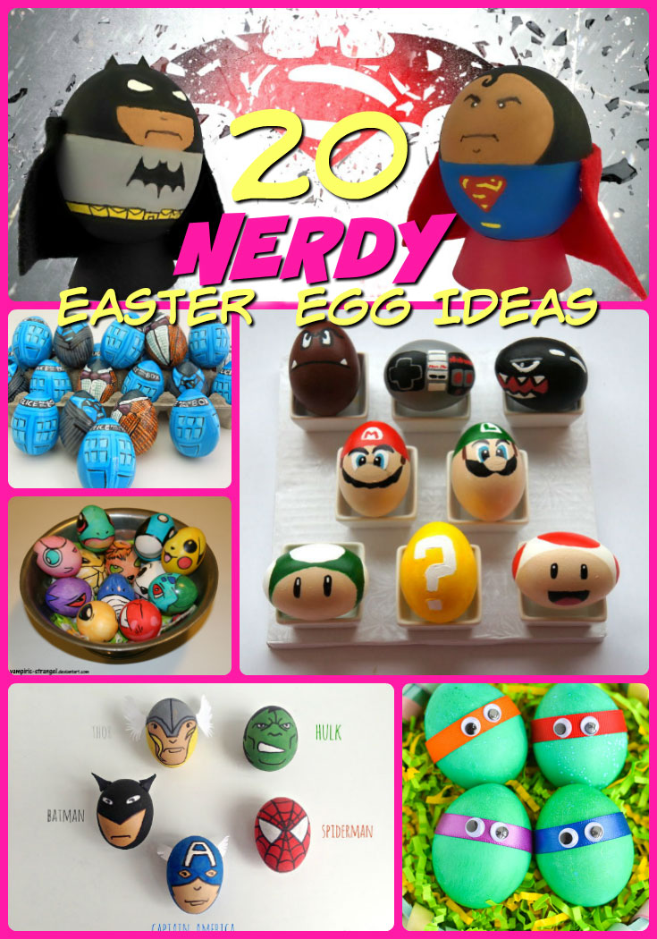 Nerdy Easter Eggs Nerdy Eggs Ideas pin