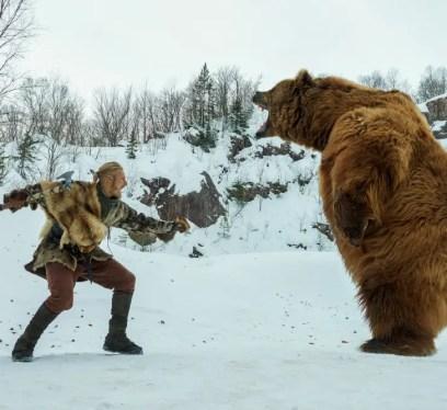 Bjoen and bear, Bjorm, Vikings, THe history channel, Vikings on on history,