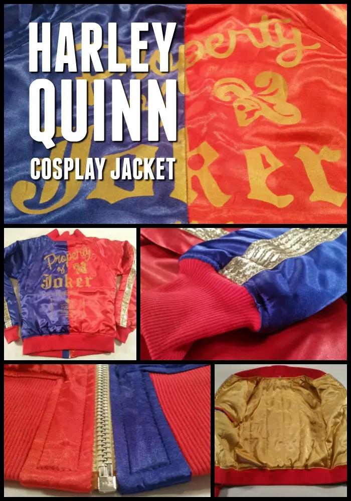 Harley Quinn Cosplay, Harley Quinn jacket