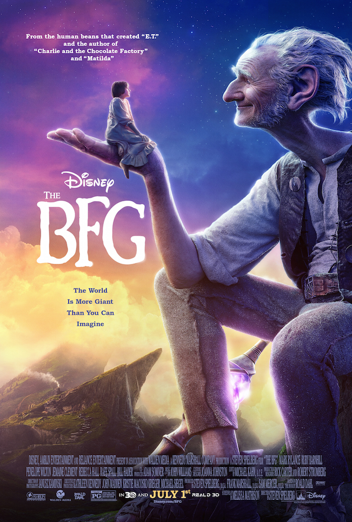 The BFG Official Poster
