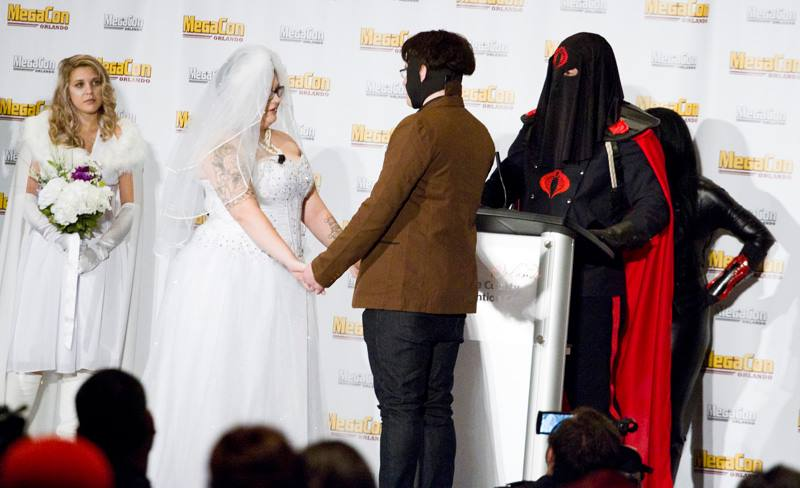 MegaCon wedding
