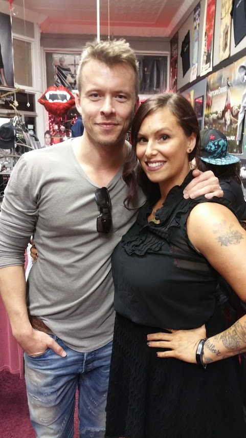 Todd Lasance, Christa Thompson, The Vampire Diaries, Covington, Vampire Stalkers, Mystic Falls Tours