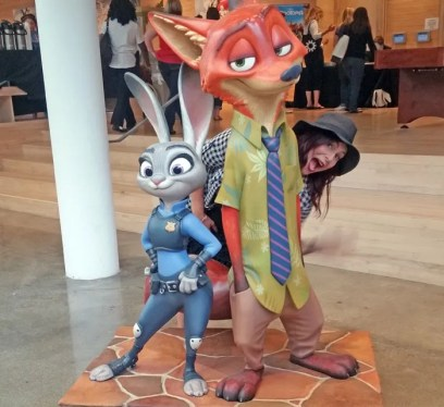Christa Thompson, The Fairytale Traveler, Zootopia, Judy Hopps, Disney Toon Studios