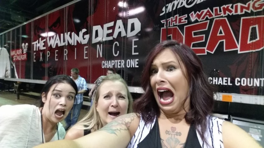 The Walking Dead Experience, Christa Thompson, Sheely VanWitzenberg, Walker Stalker, Chicago, The Fairytale Traveler