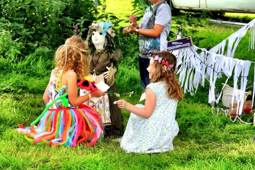 Wishing at the Three Wishes Faerie Festival Photo by Natasha von Geldern