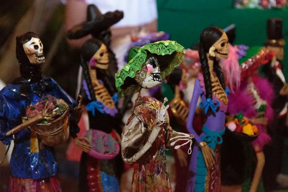 Day of the Dead vacation, Xcaret, Mexico, dia de los muertos
