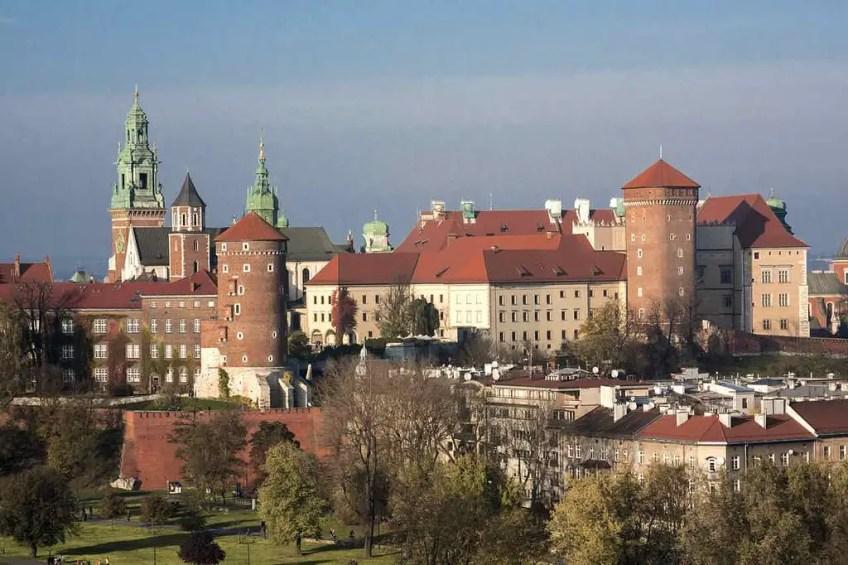 Wawel Castle, romantic, krakow
