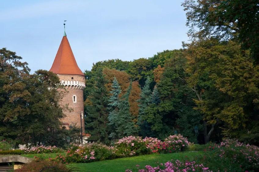 romantic, krakow, Planty Park