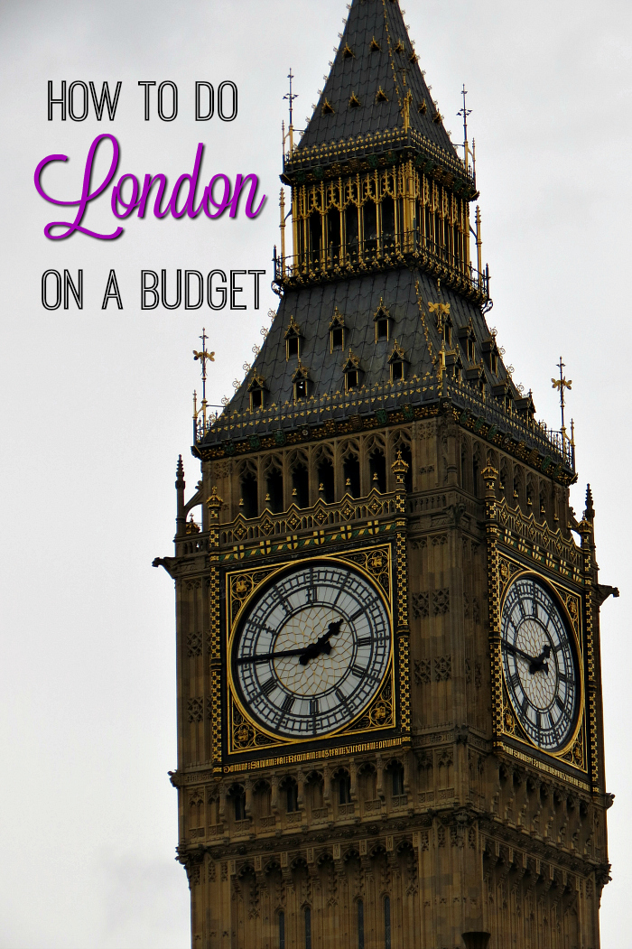 London on a budget