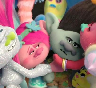 trolls poster, trolls movie, trolls movie review