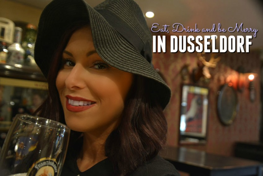 places to eat in dusseldorf, solo vacation