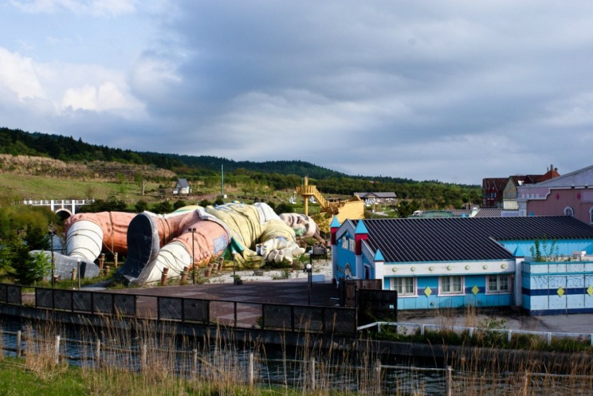 Abandon theme parks in Japan