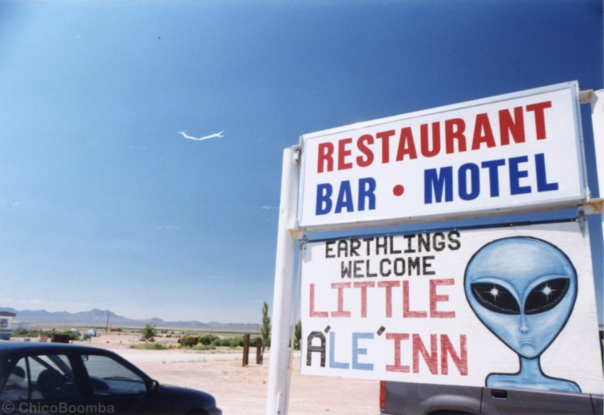 unique road trips, UFO locations