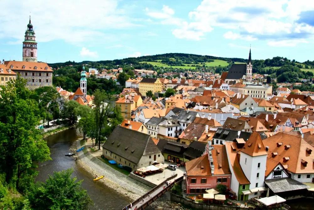 Cesky Krumlov, Czech Republic, magical destinations in europe