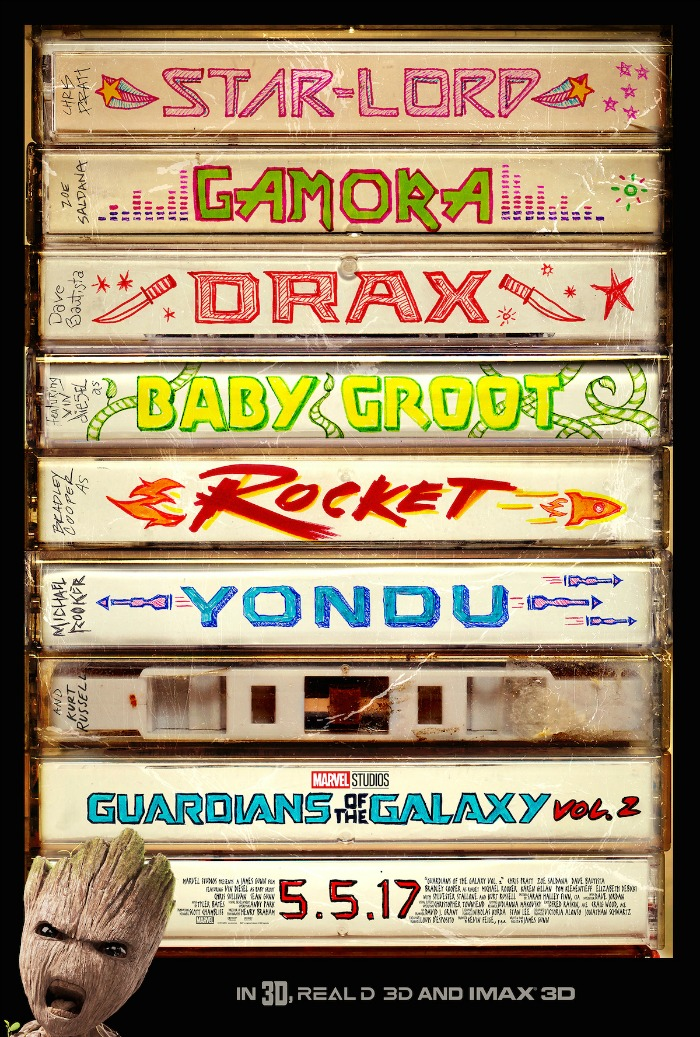 Guardians of the Galaxy Vol poster