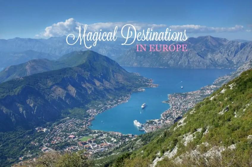 Kotor Montenegro, magical destinations in europe