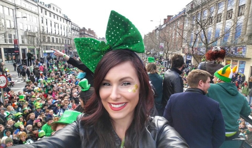 St. Patrick's Day Holiday, Dublin, christa thompson