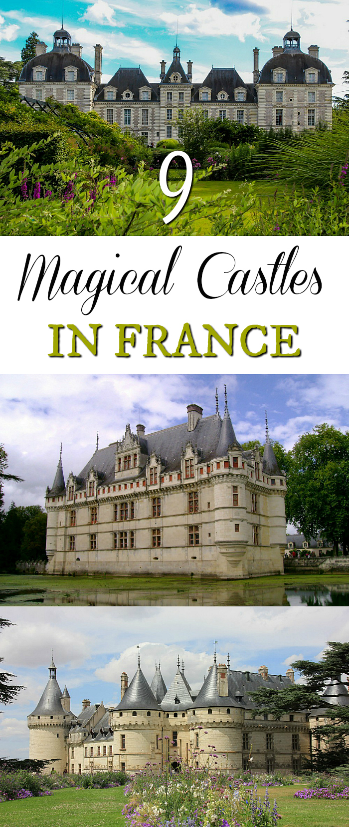 Magical castles in france, chateaus in France