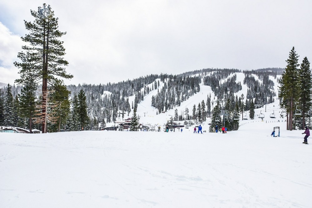 Skiing for the first time, Northstar Tahoe