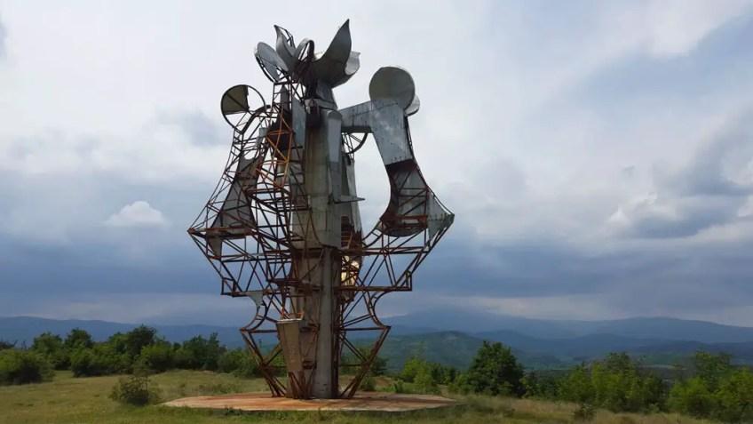 Gevgelija, Spomeniks of Yugoslavia