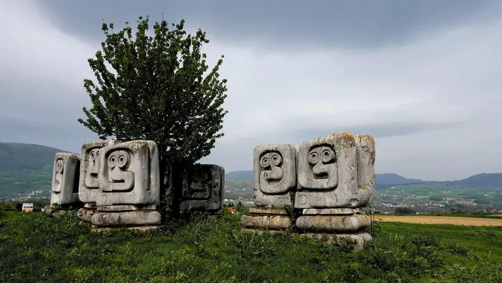 Novi Travnik, Spomeniks of Yugoslavia