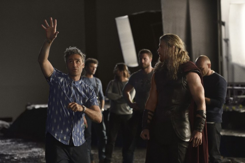 Thor: Ragnarok behind the scenes images