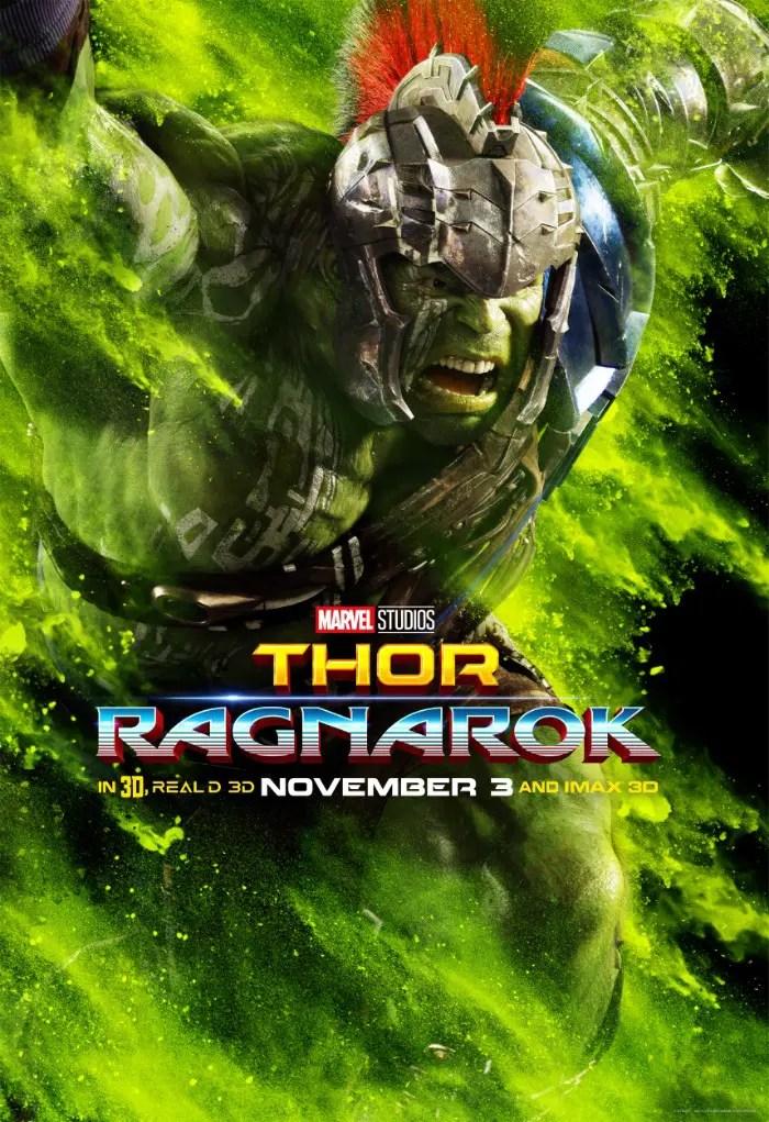Thor Ragnarok Poster new