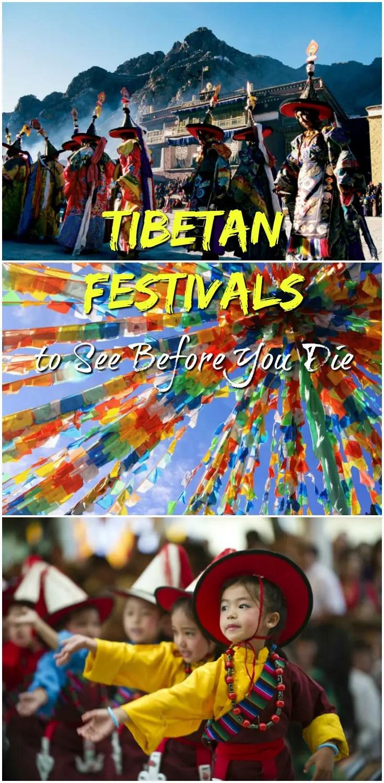 Tibetan Festivals pin