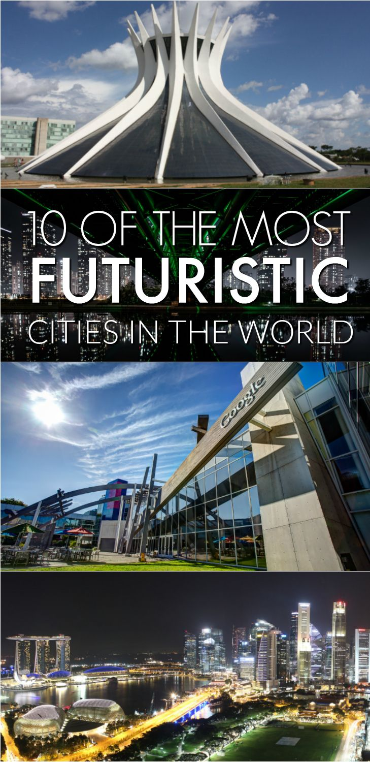 most futuristic cities