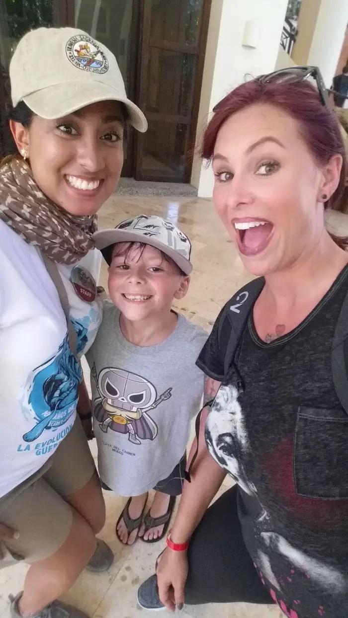 Sacred Mayan Journey Xcaret. Gauge Rybak, Kidfriendly, Christa Thompson. Paola Fuentez
