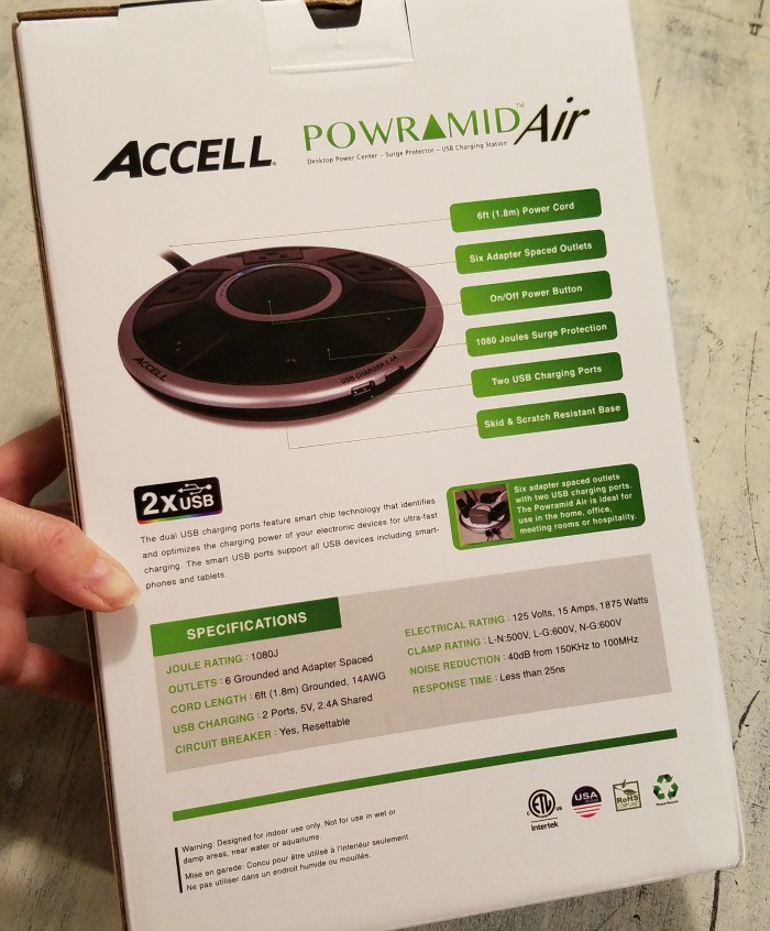 Accell Powramid Power Center, Surge Protector, Review