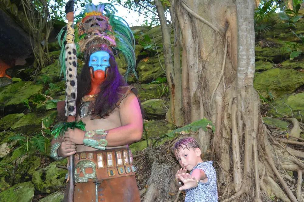 Sacred Mayan Journey Xcaret Gauge Rybak, Kidfriendly