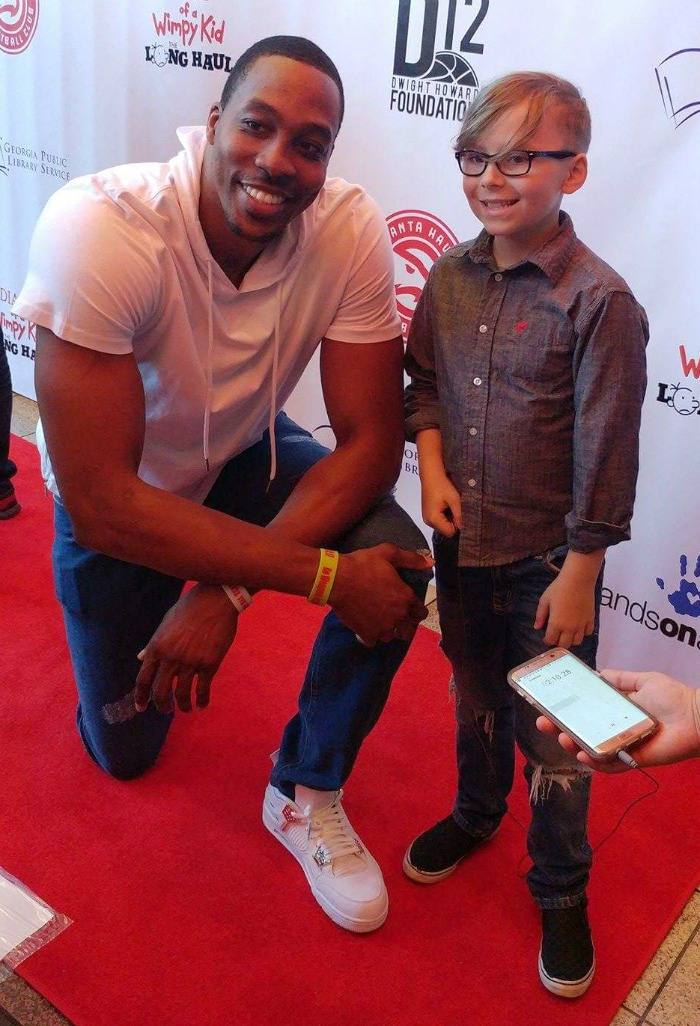 Diary of a Wimpy Kid: The Long Haul Atlanta Premiere Interviews, Dwight Howard, Gauge Rybak, Kid Friendly, KidFriendlyTV