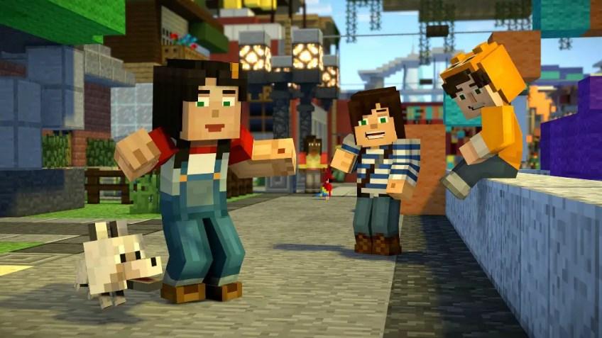 Minecraft Story Mode Season two 1