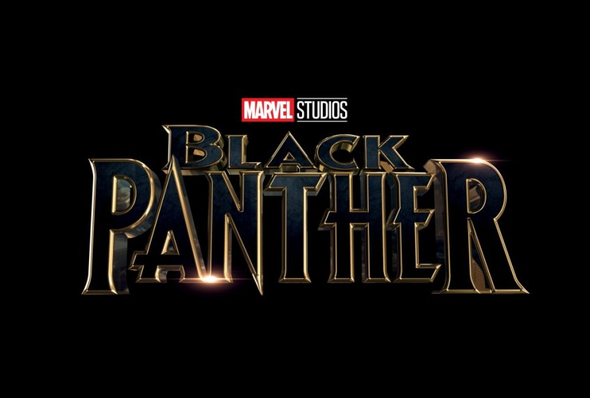 Black Panther Film Title Poster