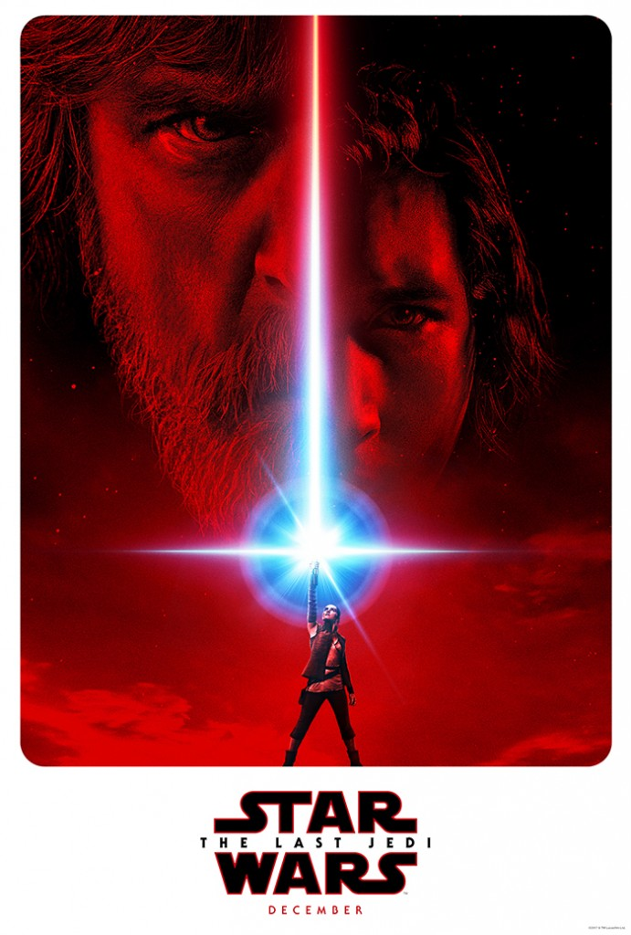 Upcoming Disney Movies, Find the Force, Force Friday II, Star Wars: The Last Jedi Poster